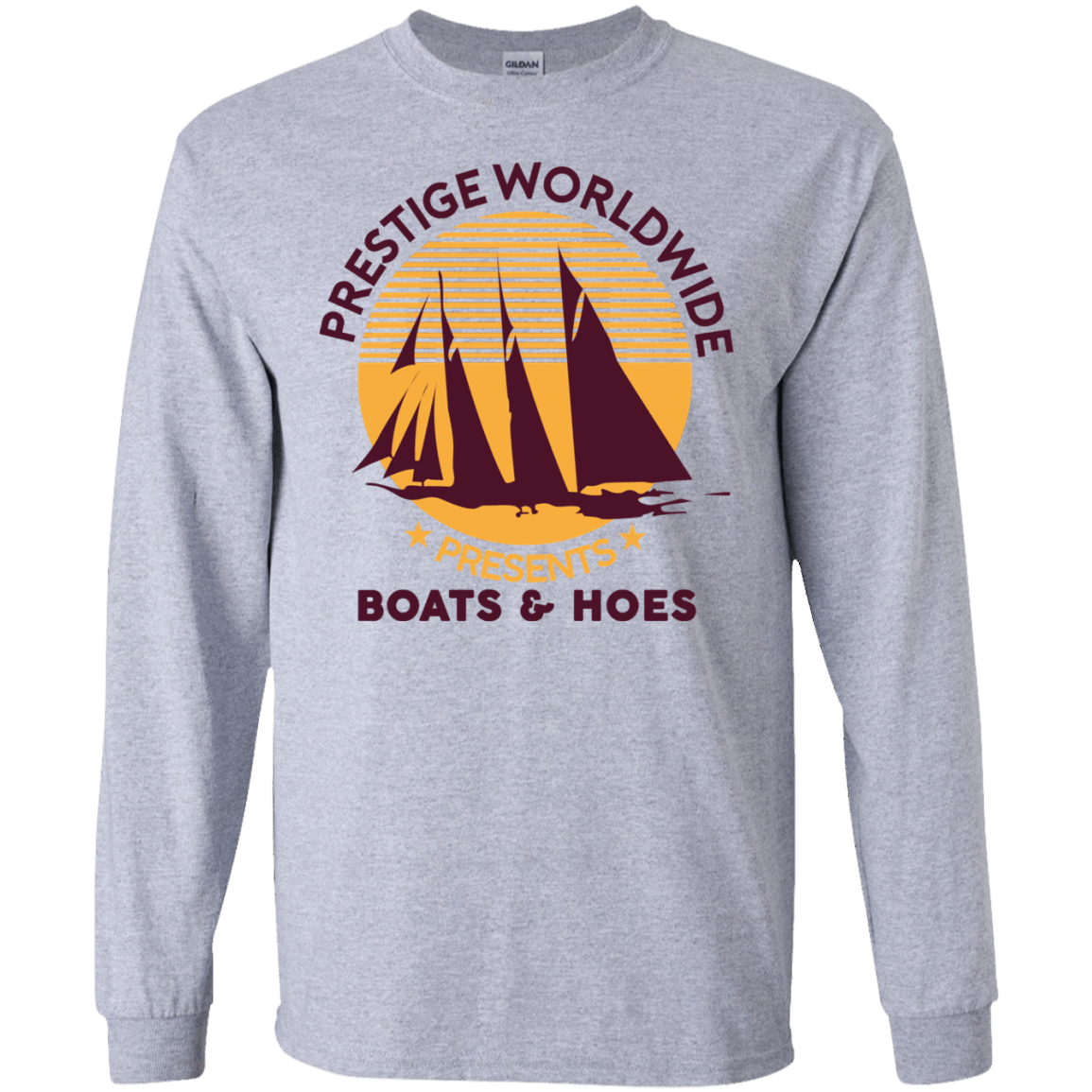 Prestige Worldwide Presents Boats & Hoes 30-188-72790289-335 - Tee Ript
