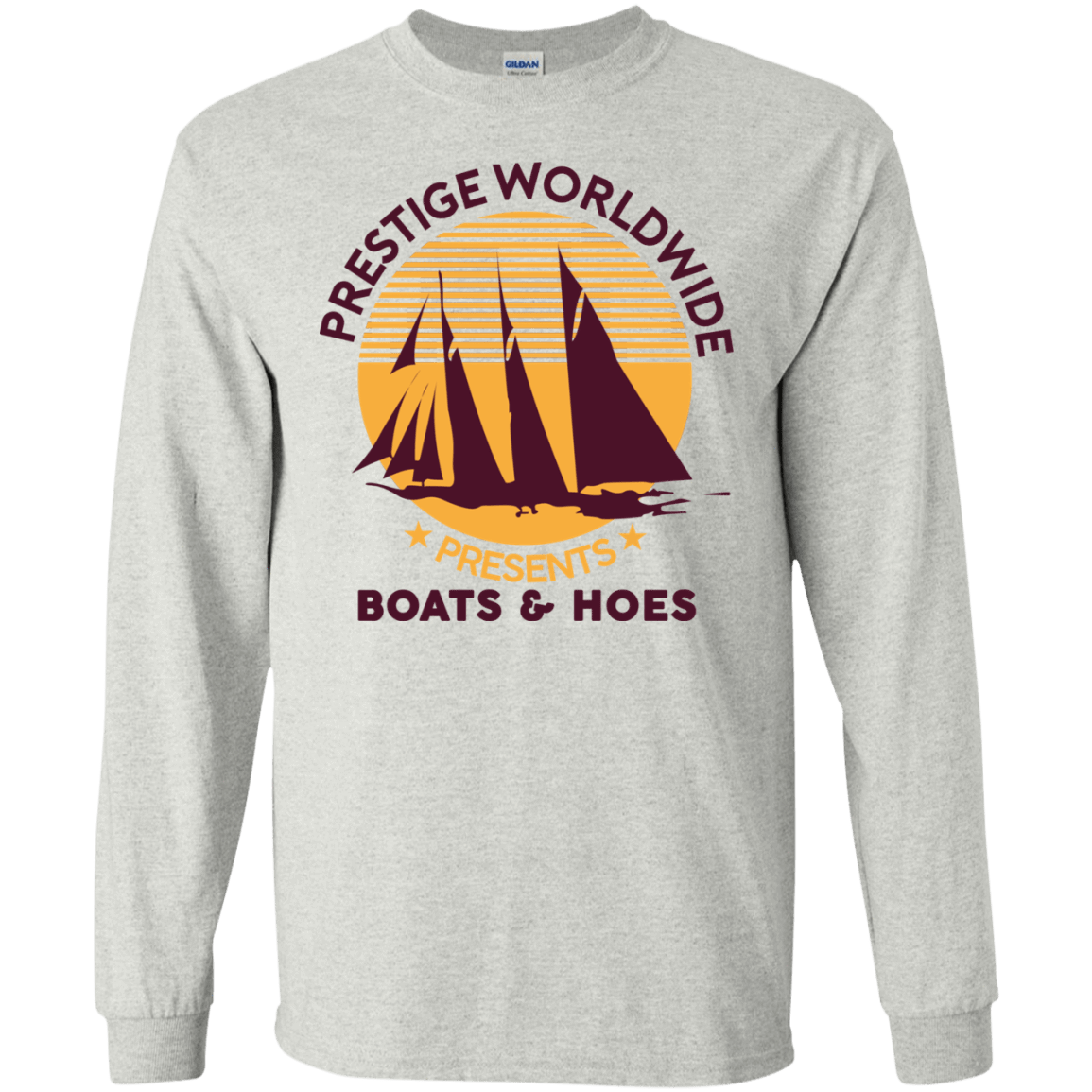 Prestige Worldwide Presents Boats & Hoes 30-2112-72790289-10754 - Tee Ript