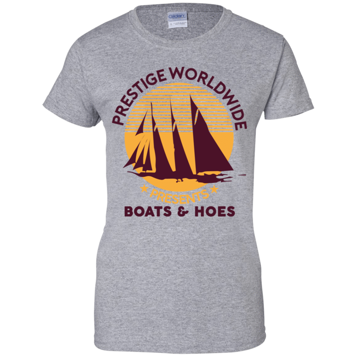 Prestige Worldwide Presents Boats & Hoes 939-9265-72790291-44821 - Tee Ript