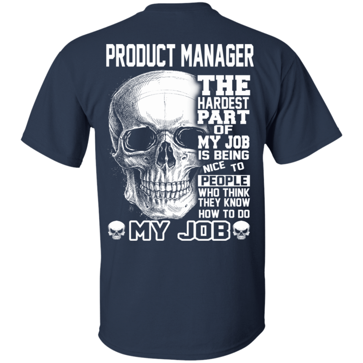 Product Manager The Hardest Part Of My Job 22-111-71881740-250 - Tee Ript