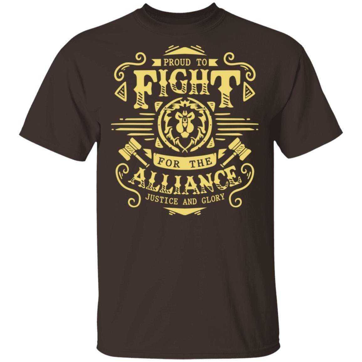 Proud To Fight For The Alliance Justice And Glory T-Shirts, Hoodies 1049-9956-88445022-48152 - Tee Ript