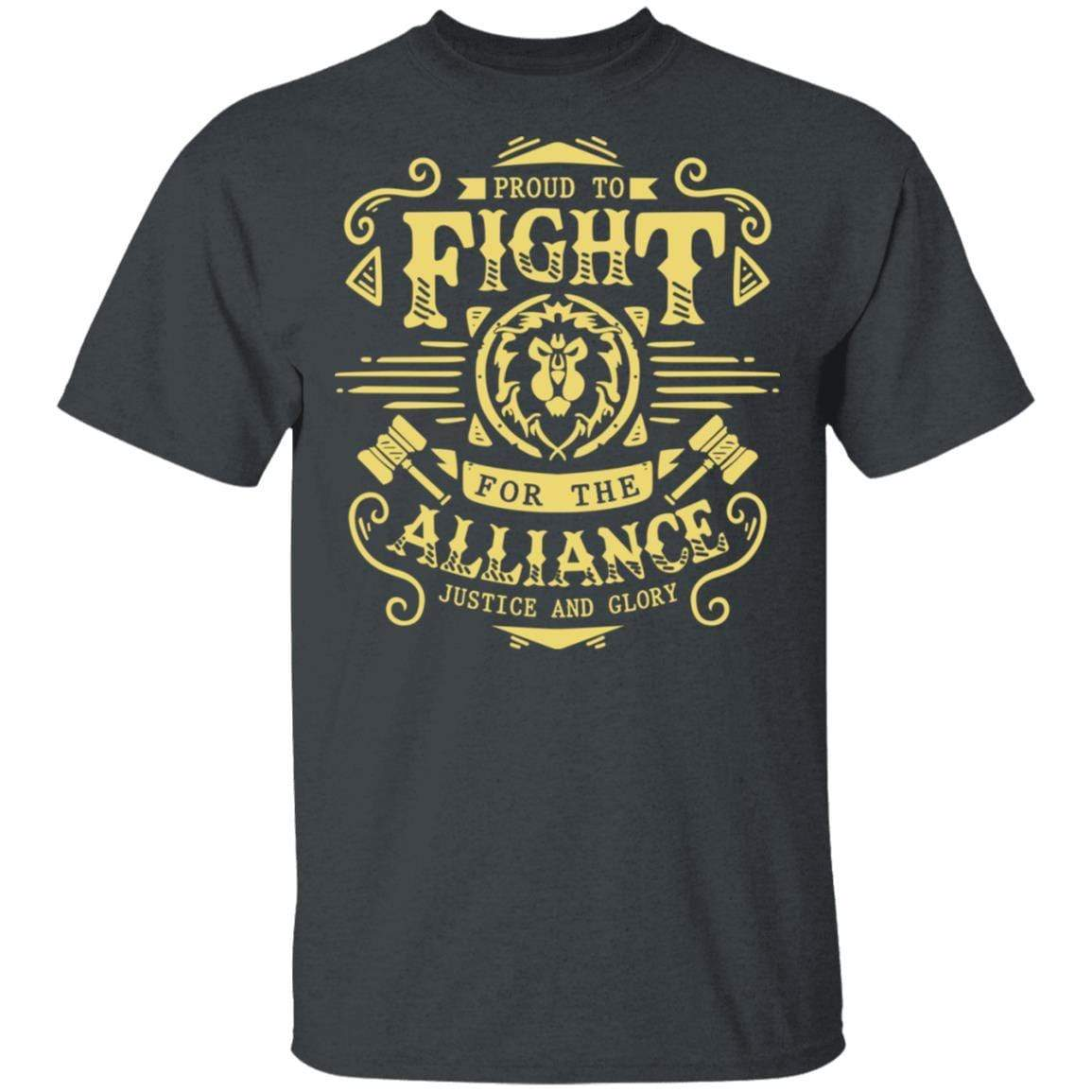 Proud To Fight For The Alliance Justice And Glory T-Shirts, Hoodies 1049-9957-88445022-48192 - Tee Ript