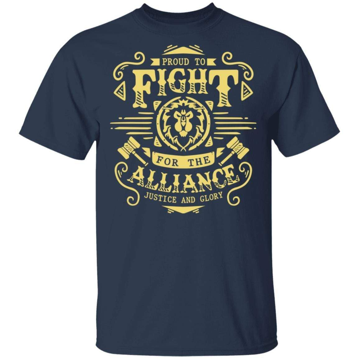 Proud To Fight For The Alliance Justice And Glory T-Shirts, Hoodies 1049-9966-88445022-48248 - Tee Ript