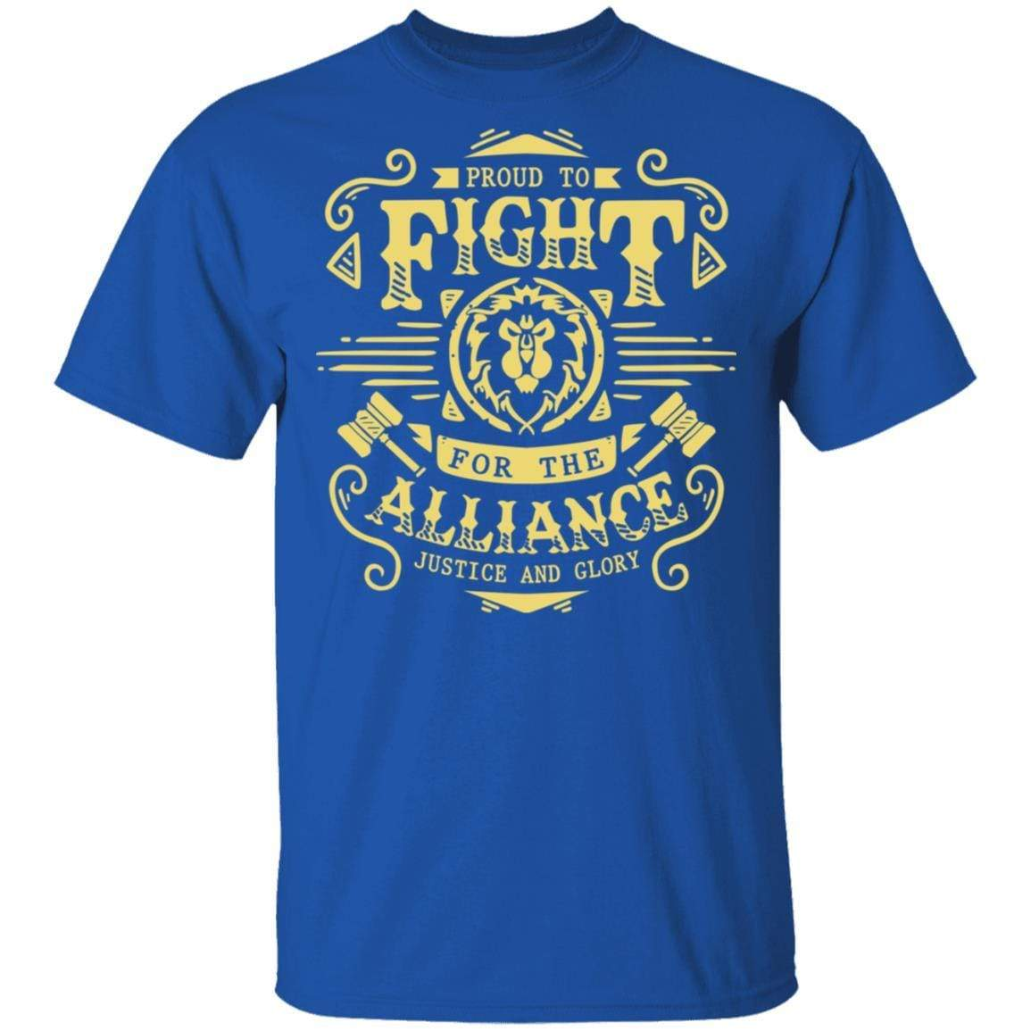 Proud To Fight For The Alliance Justice And Glory T-Shirts, Hoodies 1049-9971-88445022-48286 - Tee Ript