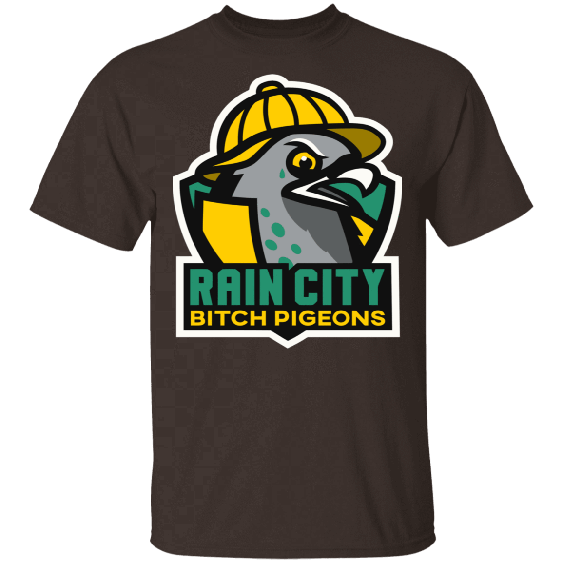 Rain City Bitch Pigeons T-Shirts, Hoodies, Tank 22-2283-79271397-12087 - Tee Ript