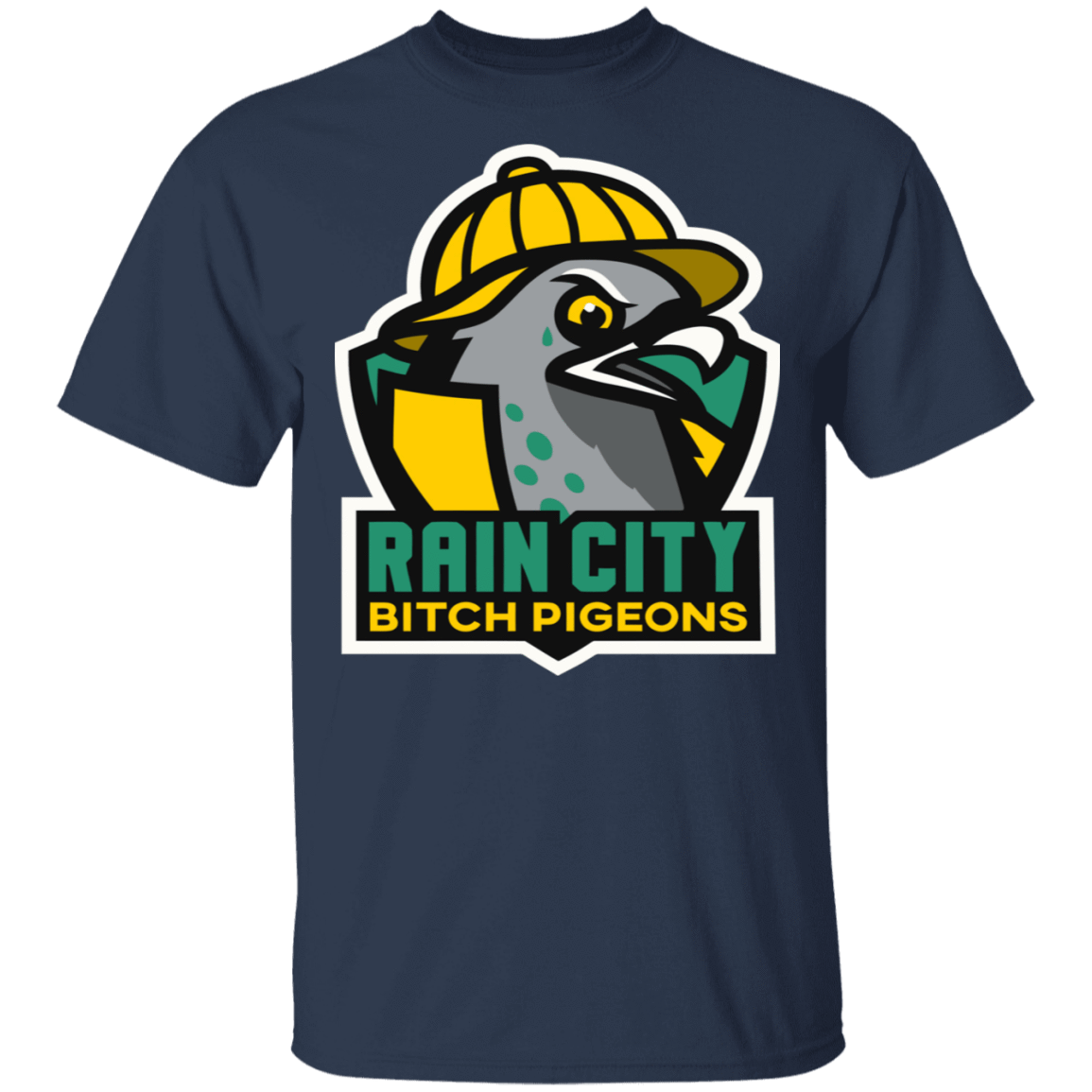 Rain City Bitch Pigeons T-Shirts, Hoodies, Tank 22-111-79271397-250 - Tee Ript