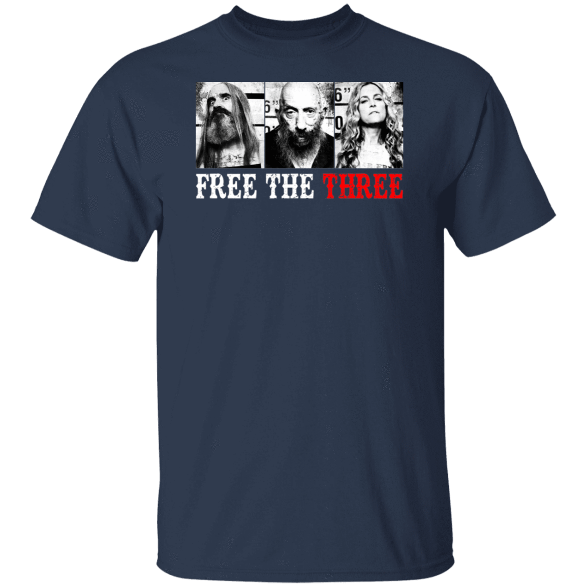 Rob Zombie Free The Three T-Shirts, Hoodies, Tank 1049-9966-80780092-48248 - Tee Ript