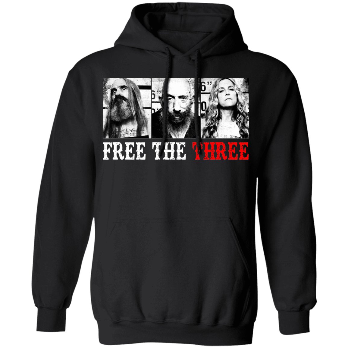 Rob Zombie Free The Three T-Shirts, Hoodies, Tank 541-4740-80780091-23087 - Tee Ript