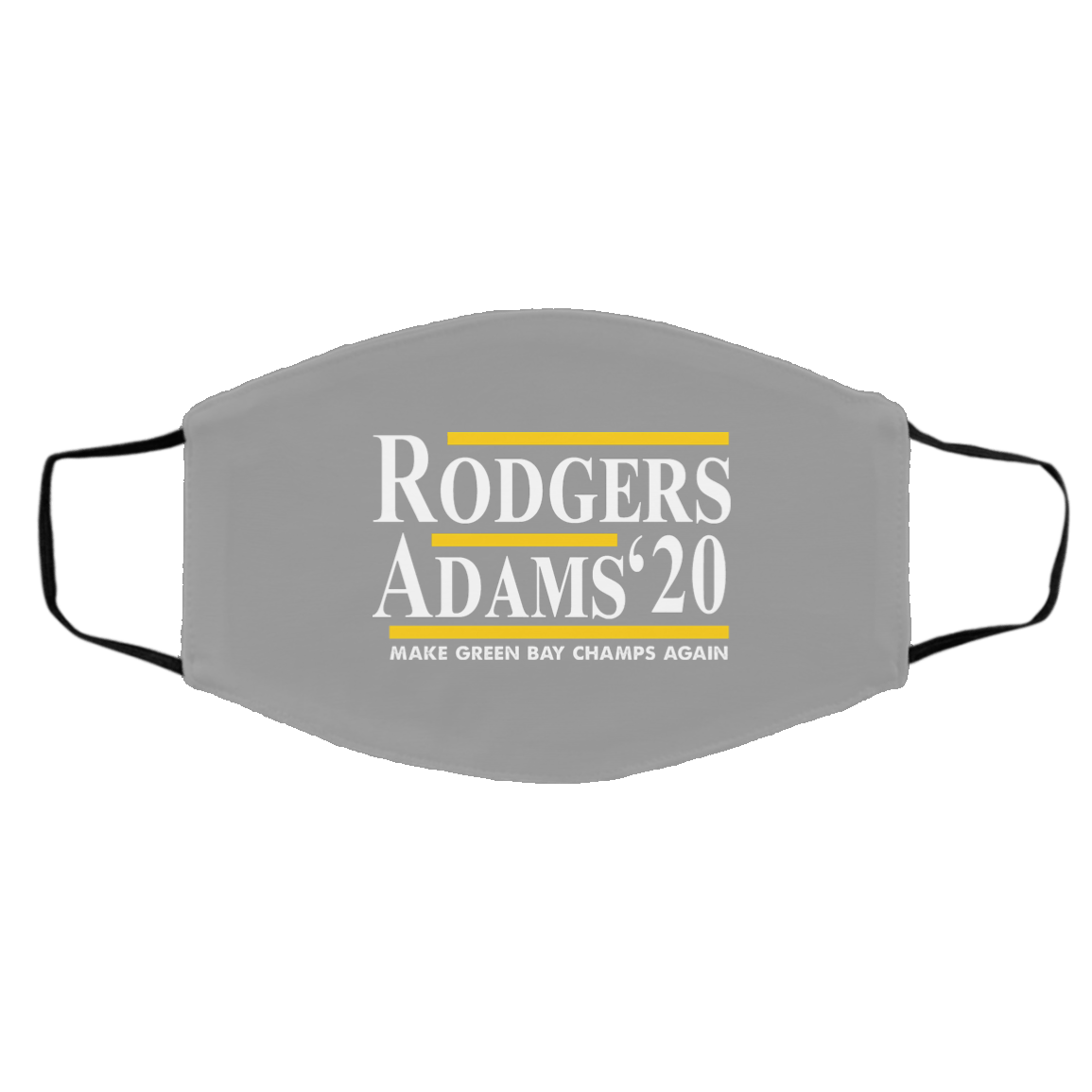 Rodgers Adam's 2020 Make Green Bay Champs Again Face Mask 1274-13179-91587535-59067 - Tee Ript