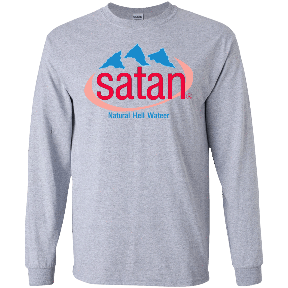 Satan: Natural Hell Water 30-188-73057073-335 - Tee Ript