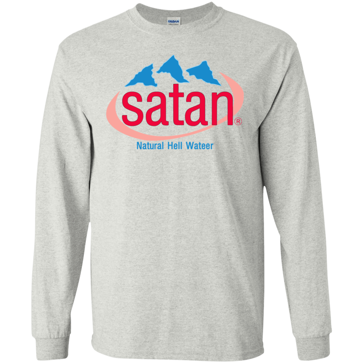 Satan: Natural Hell Water 30-2112-73057073-10754 - Tee Ript