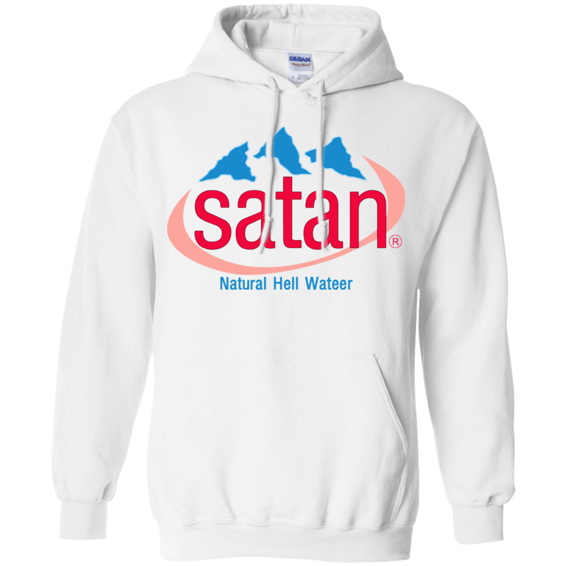 Satan: Natural Hell Water 541-4744-73057074-23183 - Tee Ript