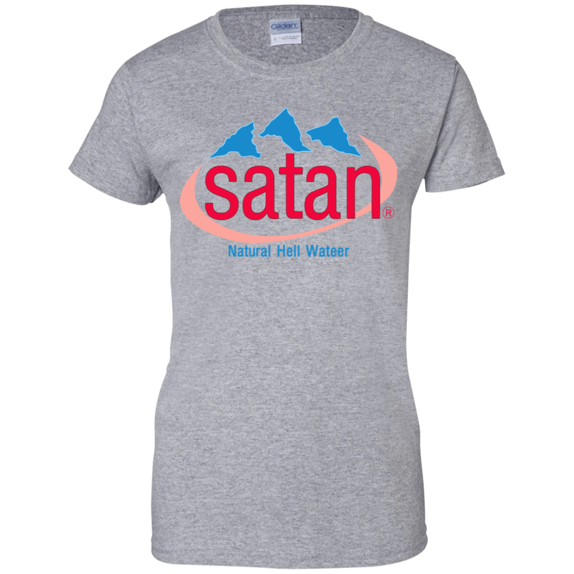 Satan: Natural Hell Water 939-9265-73057075-44821 - Tee Ript