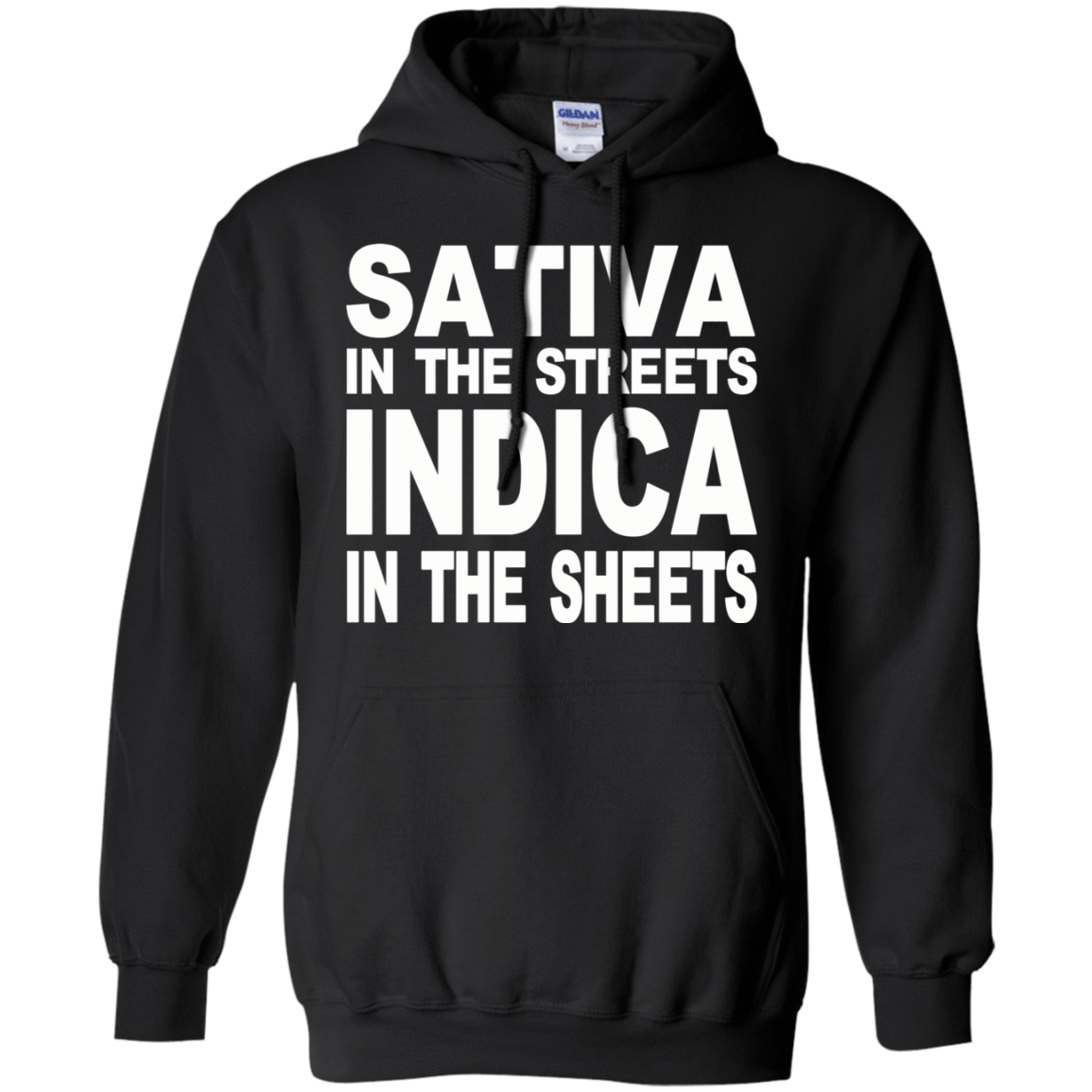 Sativa In The Streets Indica In The Sheets 541-4740-74096117-23087 - Tee Ript