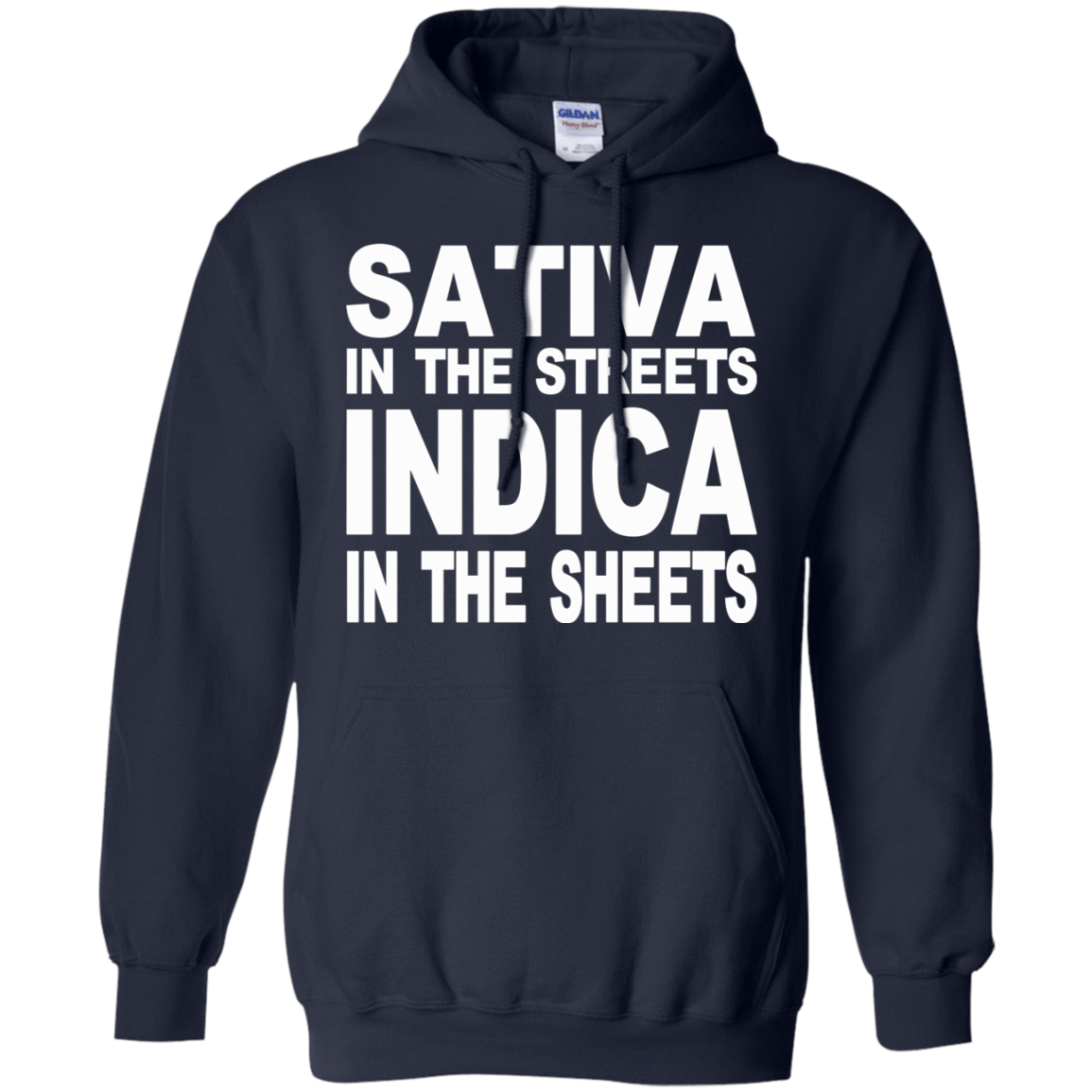 Sativa In The Streets Indica In The Sheets 541-4742-74096117-23135 - Tee Ript
