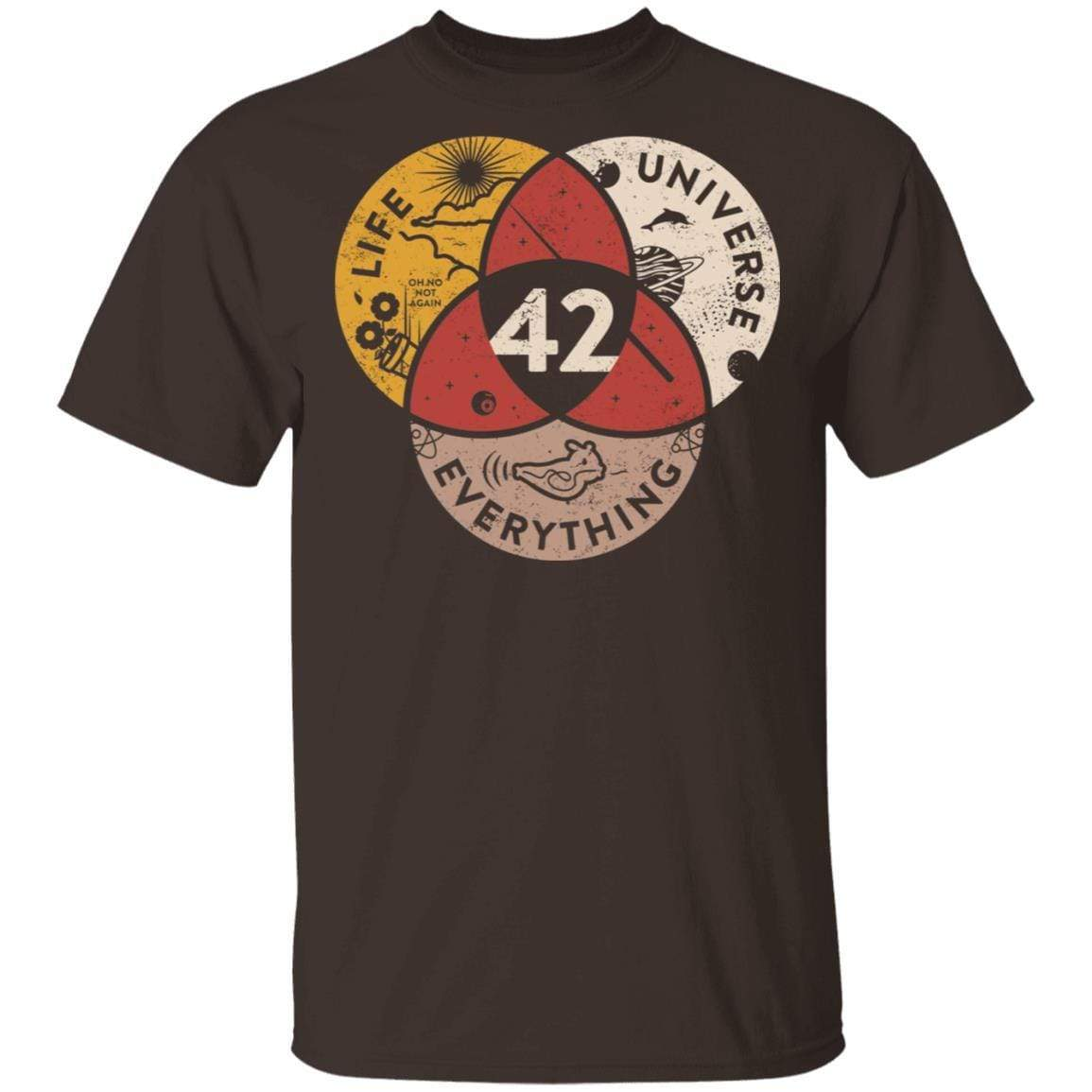 Science 42 Angel Number Life Universe Everything Number 42 T-Shirts, Hoodies