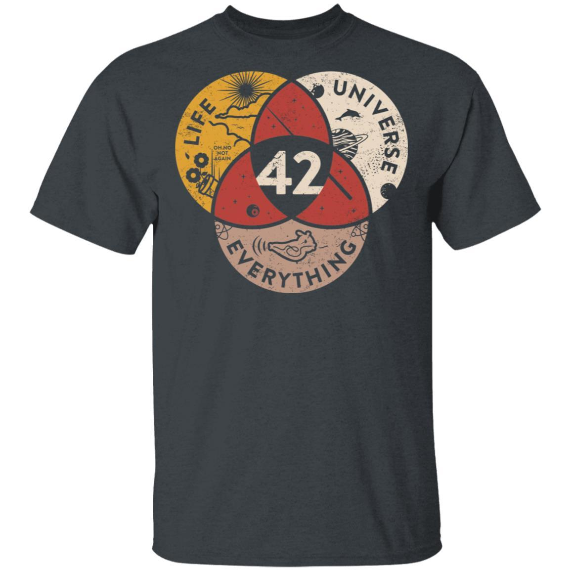 Science 42 Angel Number Life Universe Everything Number 42 T-Shirts, Hoodies 1049-9957-90248451-48192 - Tee Ript