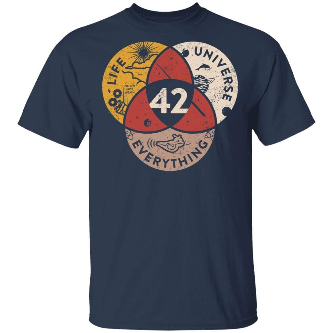 Science 42 Angel Number Life Universe Everything Number 42 T-Shirts, Hoodies 1049-9966-90248451-48248 - Tee Ript