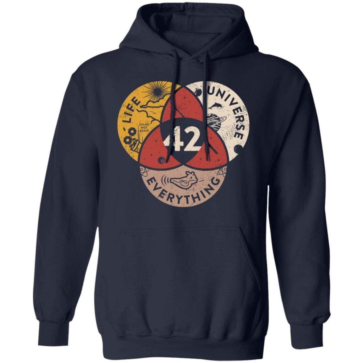 Science 42 Angel Number Life Universe Everything Number 42 T-Shirts, Hoodies 541-4742-90248450-23135 - Tee Ript