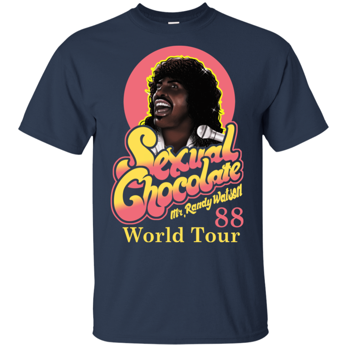 Sexual Chocolate 88' World Tour Randy Watson 22-111-72932534-250 - Tee Ript