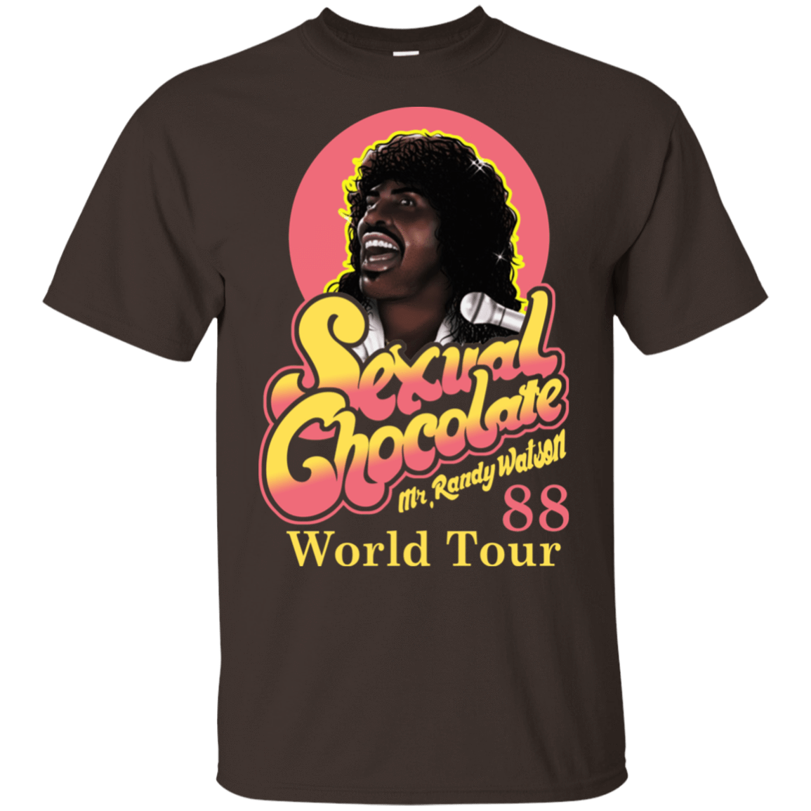 Sexual Chocolate 88' World Tour Randy Watson 22-2283-72932534-12087 - Tee Ript
