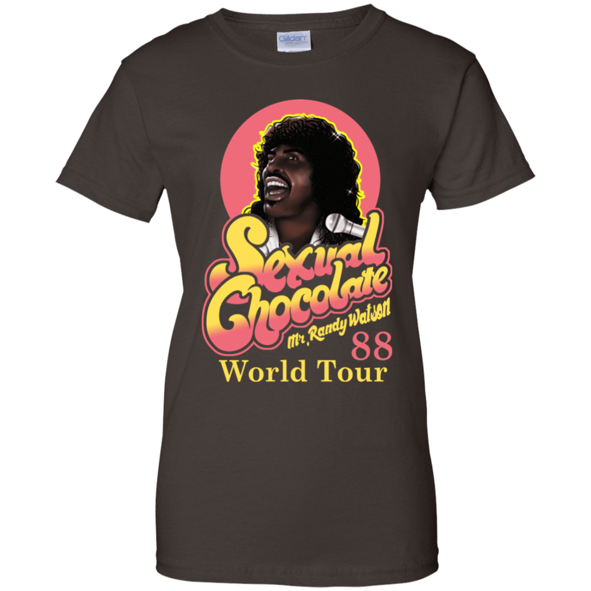 Sexual Chocolate 88' World Tour Randy Watson 939-9251-72932537-44702 - Tee Ript