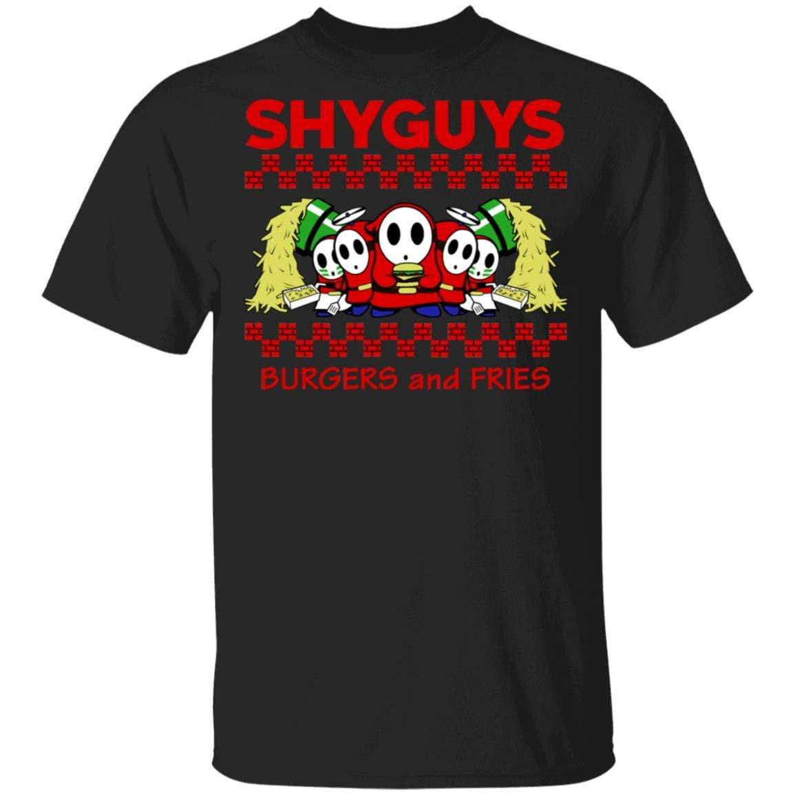 Shyguys Burgers And Fries T-Shirts, Hoodies 1049-9953-88064141-48144 - Tee Ript
