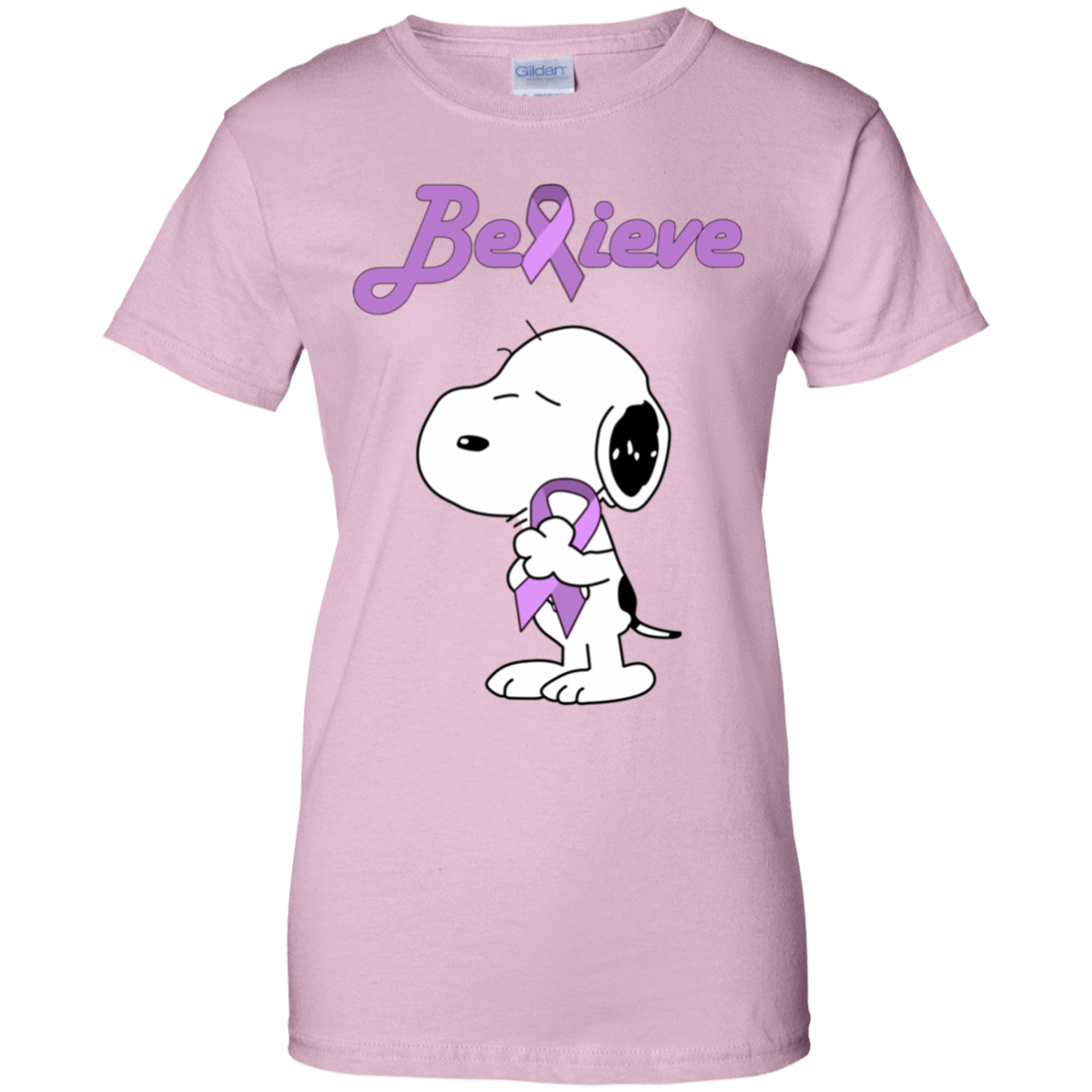 Snoopy: Believe All Cancers Lavender Awareness T-Shirts, Hoodie, Tank 939-9258-77772515-44786 - Tee Ript