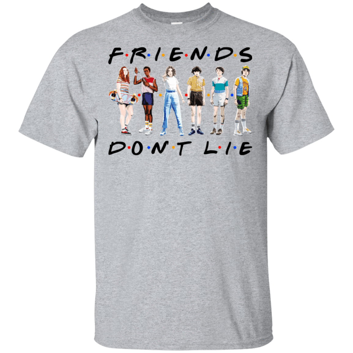 Stranger Things – Friends Don't Lie T-Shirts, Hoodies 22-115-77528892-254 - Tee Ript
