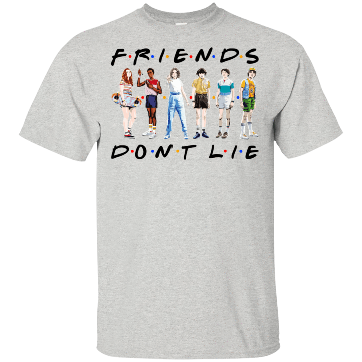 Stranger Things – Friends Don't Lie T-Shirts, Hoodies 22-2475-77528892-12568 - Tee Ript