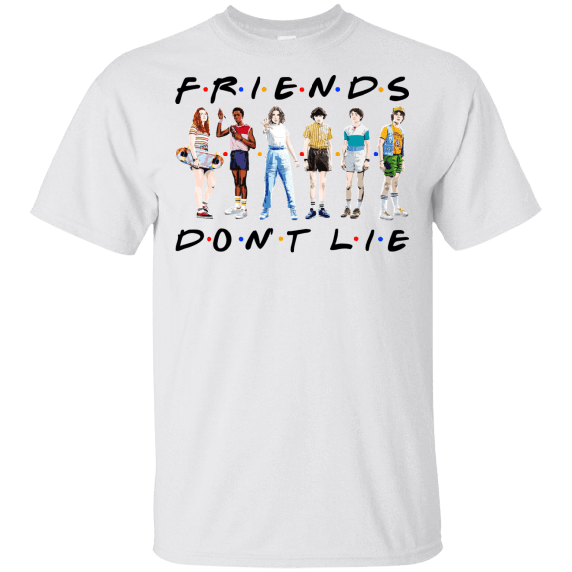 Stranger Things – Friends Don't Lie T-Shirts, Hoodies 22-114-77528892-253 - Tee Ript