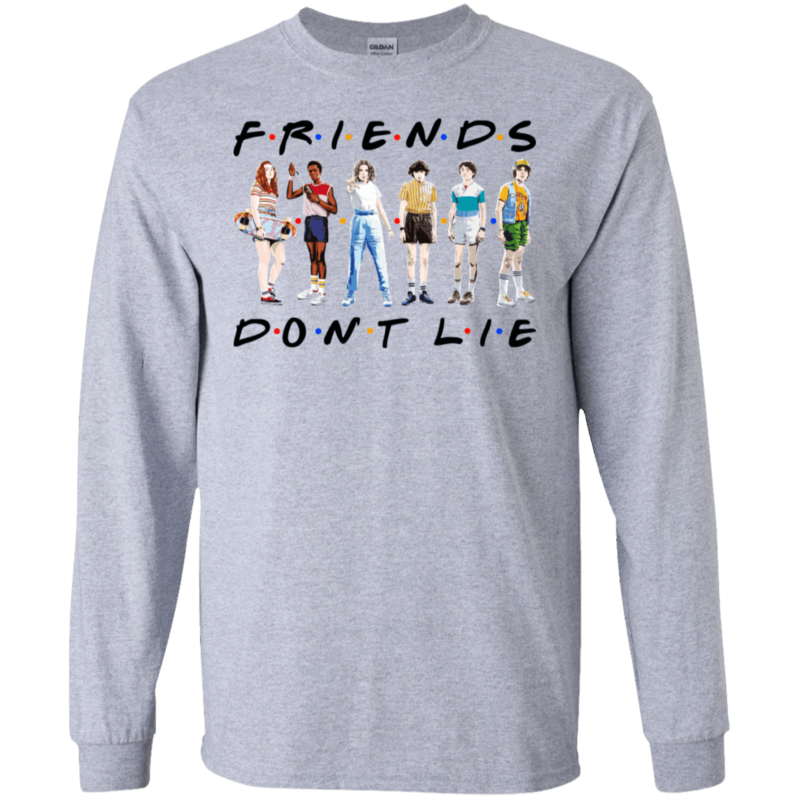 Stranger Things – Friends Don't Lie T-Shirts, Hoodies 30-188-77528893-335 - Tee Ript