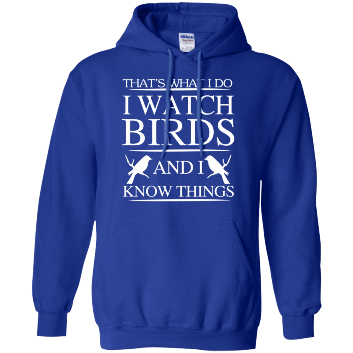That's What I Do I Watch Birds And I Know Things 541-4765-72789238-23175 - Tee Ript