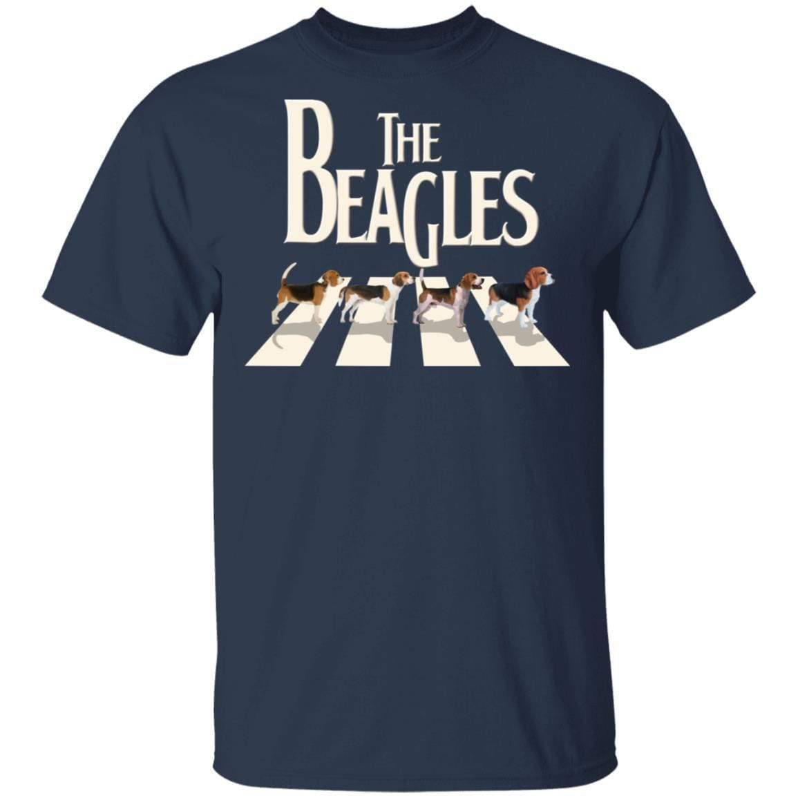 The Beagles Beatles Abbey Road T-Shirts, Hoodies 1049-9966-87283551-48248 - Tee Ript