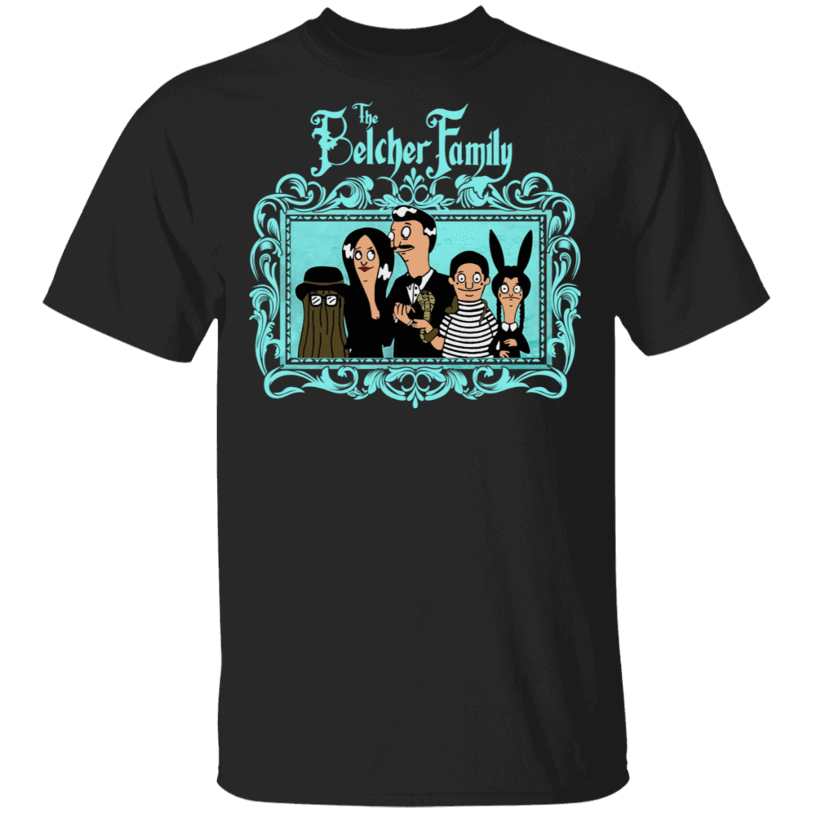 The Belcher Family Bob's Burgers T-Shirts, Hoodies, Tank 1049-9953-81138119-48144 - Tee Ript