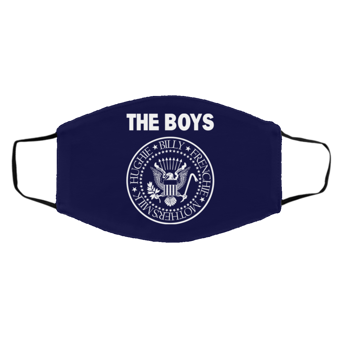 The Boys Hughie Billy Frenchie Mother's Milk Face Mask 1274-13182-89726784-59070 - Tee Ript