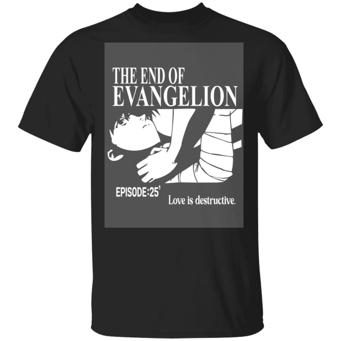 The End Of Evangelion Episode 25 Love Is Destructive T-Shirts, Hoodies 1049-9953-91821637-48144 - Tee Ript