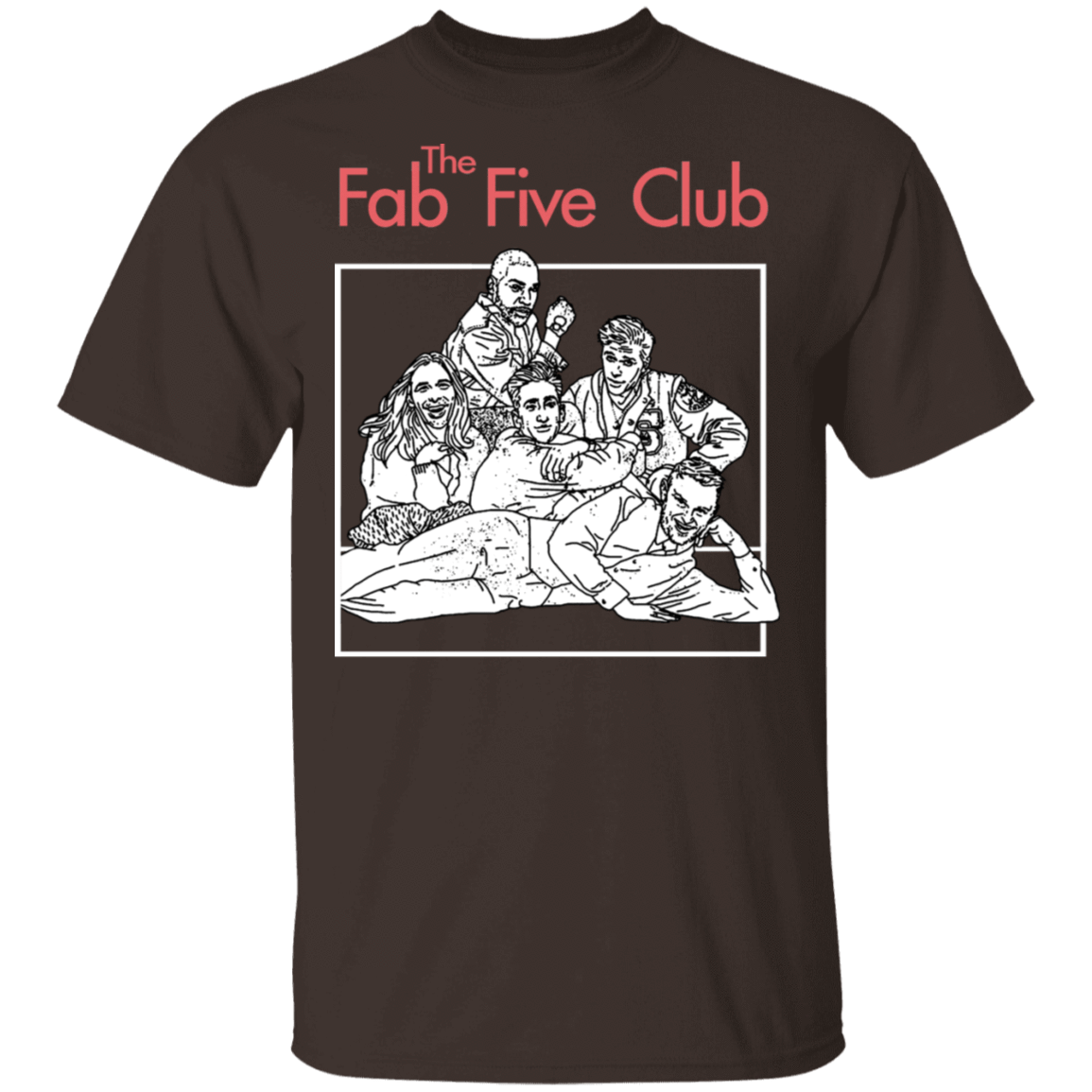 The Fab 5 Club Queer Eye T-Shirts, Hoodies, Tank 22-2283-79344749-12087 - Tee Ript
