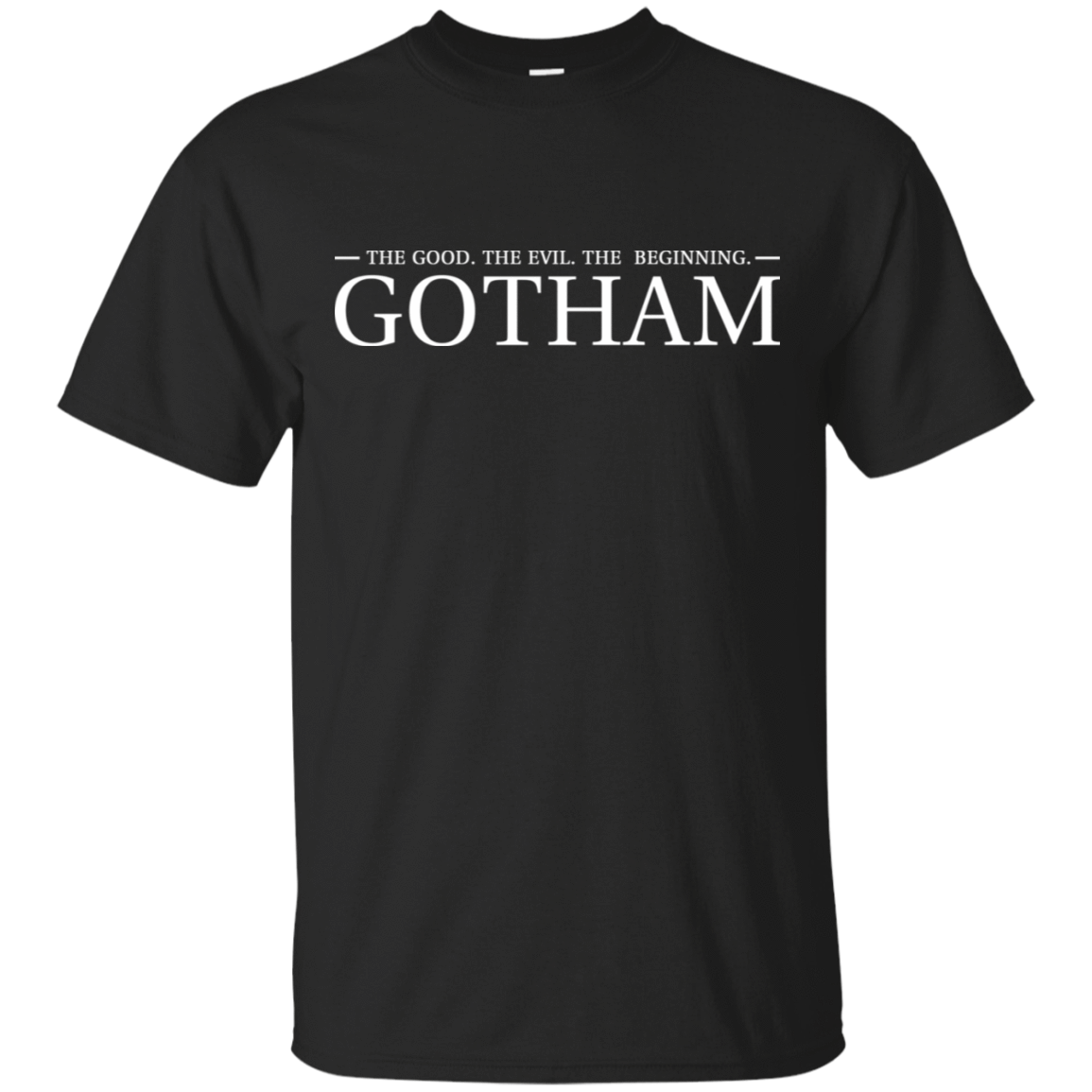 The Good. The Evil. The Beginning. Gotham 22-113-74005250-252 - Tee Ript