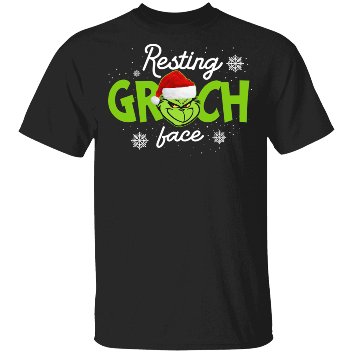 The Grinch Resting Grinch Face T-Shirts, Hoodies, Tank 1049-9953-81138121-48144 - Tee Ript
