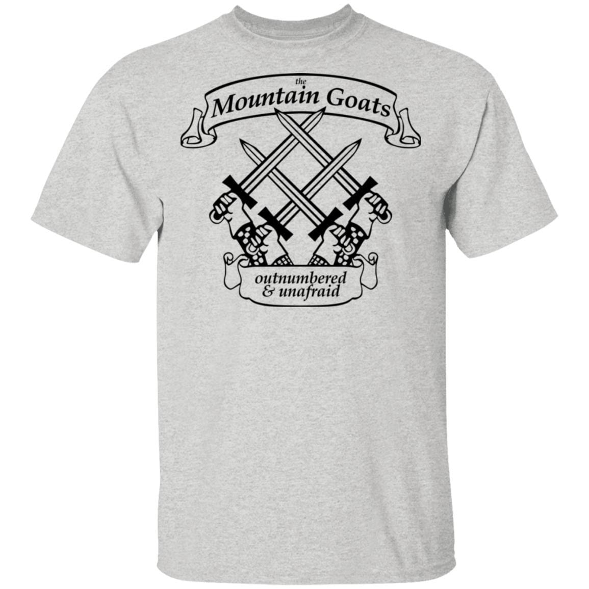 The Mountain Goats Outnumbered And Unafraid T-Shirts, Hoodies 1049-9952-92948169-48184 - Tee Ript