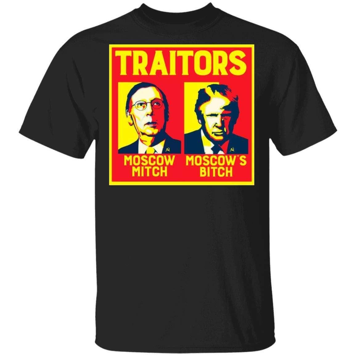 Traitors Ditch Moscow Mitch T-Shirts, Hoodies 1049-9953-86854330-48144 - Tee Ript