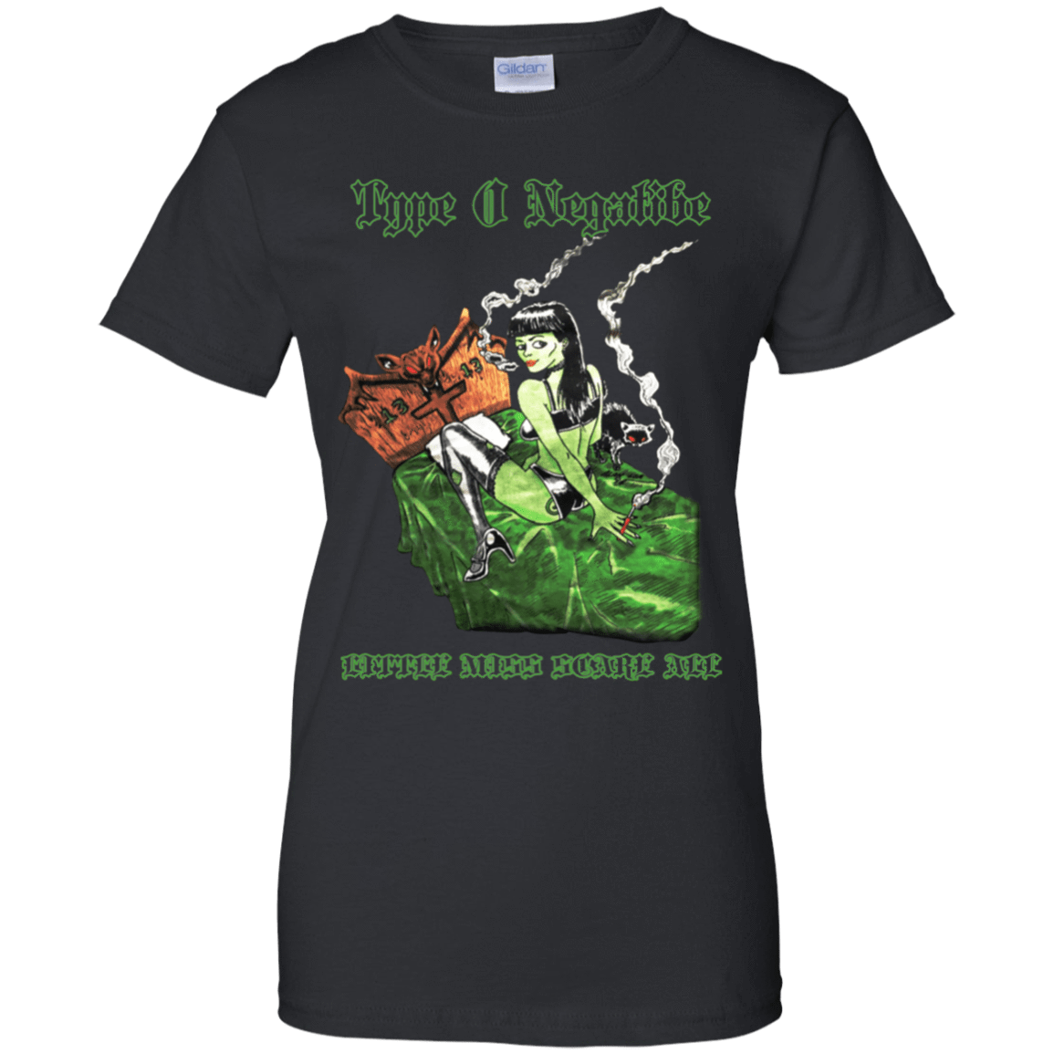 Type O Negative: Little Miss Scare All 939-9248-74331665-44695 - Tee Ript