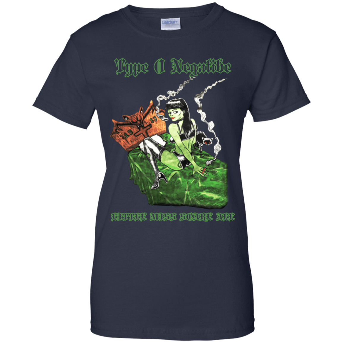 Type O Negative: Little Miss Scare All 939-9259-74331665-44765 - Tee Ript
