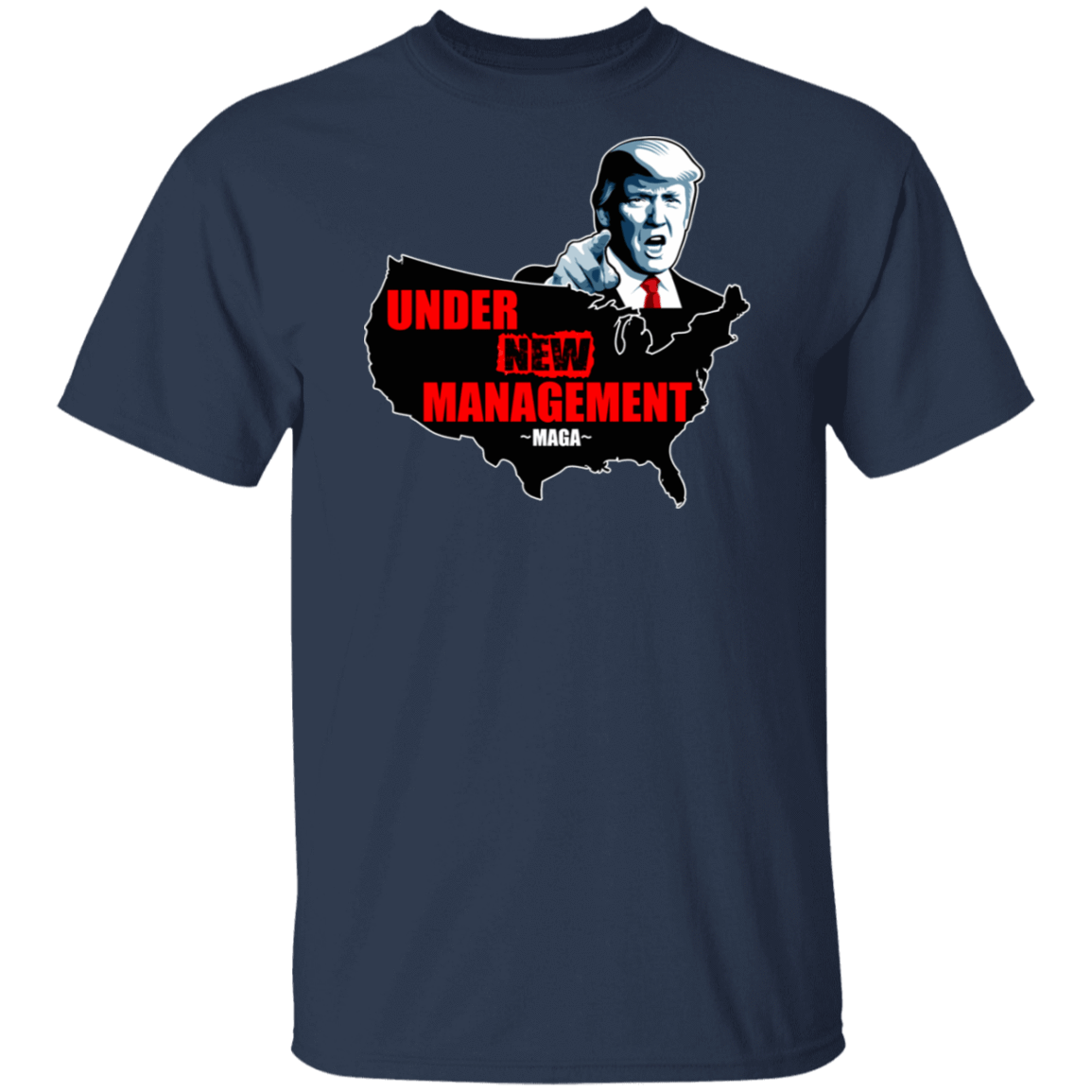 Under New Management #Maga T-Shirts, Hoodies, Tank 1049-9966-80393639-48248 - Tee Ript