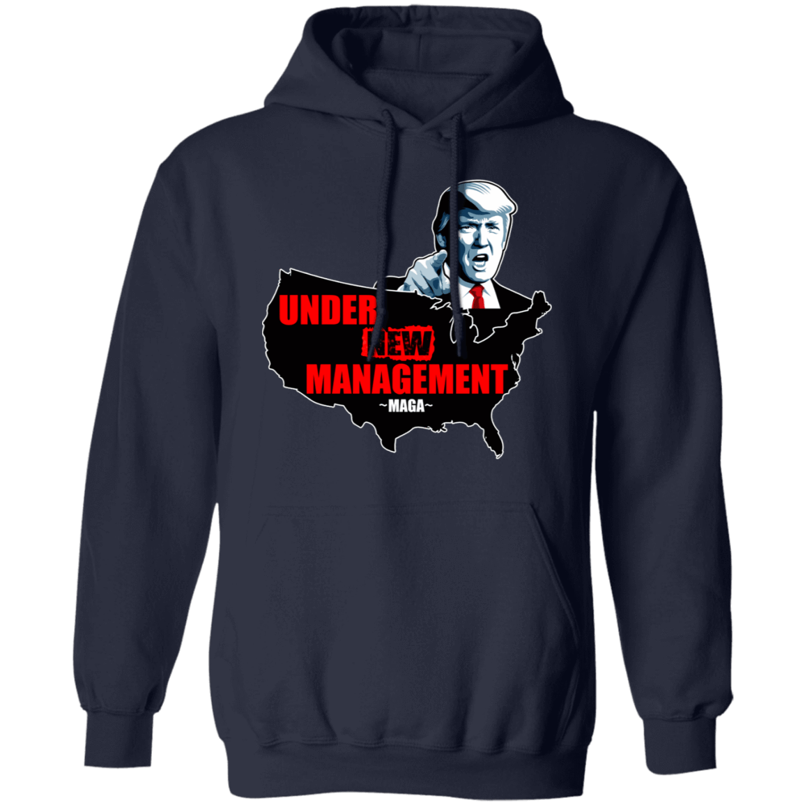 Under New Management #Maga T-Shirts, Hoodies, Tank 541-4742-80393638-23135 - Tee Ript