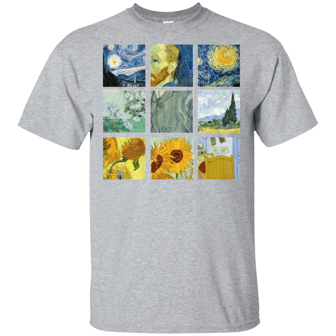 Vincent Van Gogh Collage 22-115-73056961-254 - Tee Ript