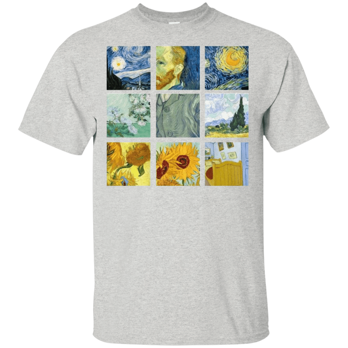 Vincent Van Gogh Collage 22-2475-73056961-12568 - Tee Ript