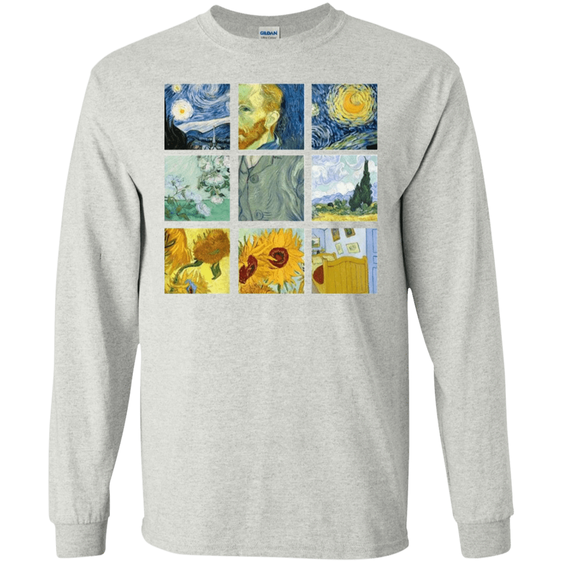 Vincent Van Gogh Collage 30-2112-73056963-10754 - Tee Ript