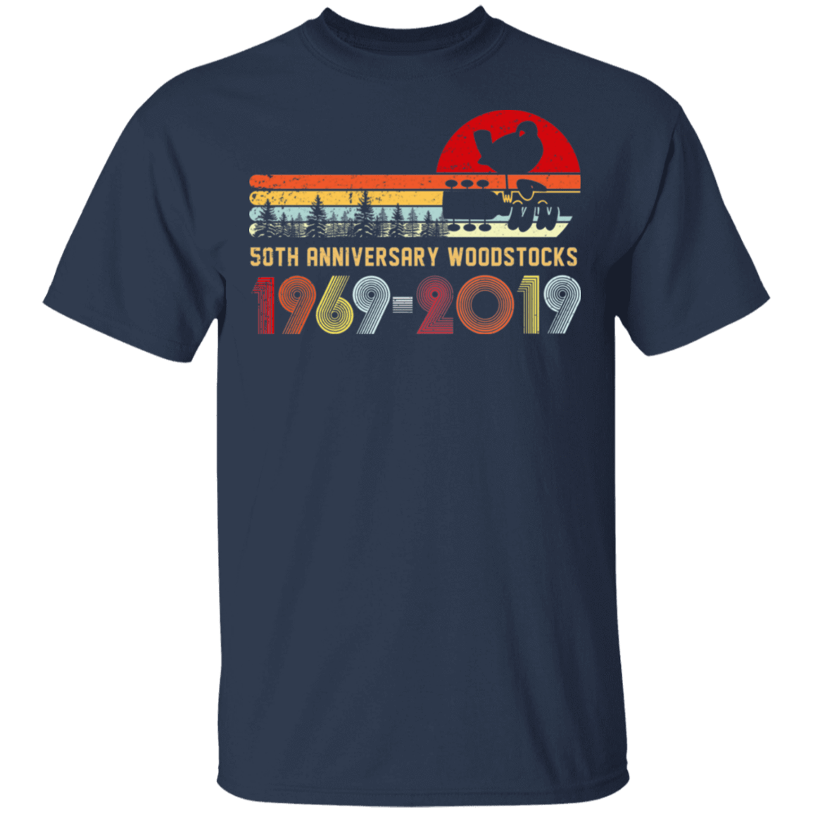 Vintage Woodstocks 50th Anniversary Peace Love 1969 – 2019 T-Shirts, Hoodies, Tank 22-111-79240712-250 - Tee Ript